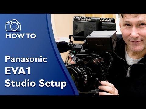 Panasonic EVA1 Studio Shoot Setup