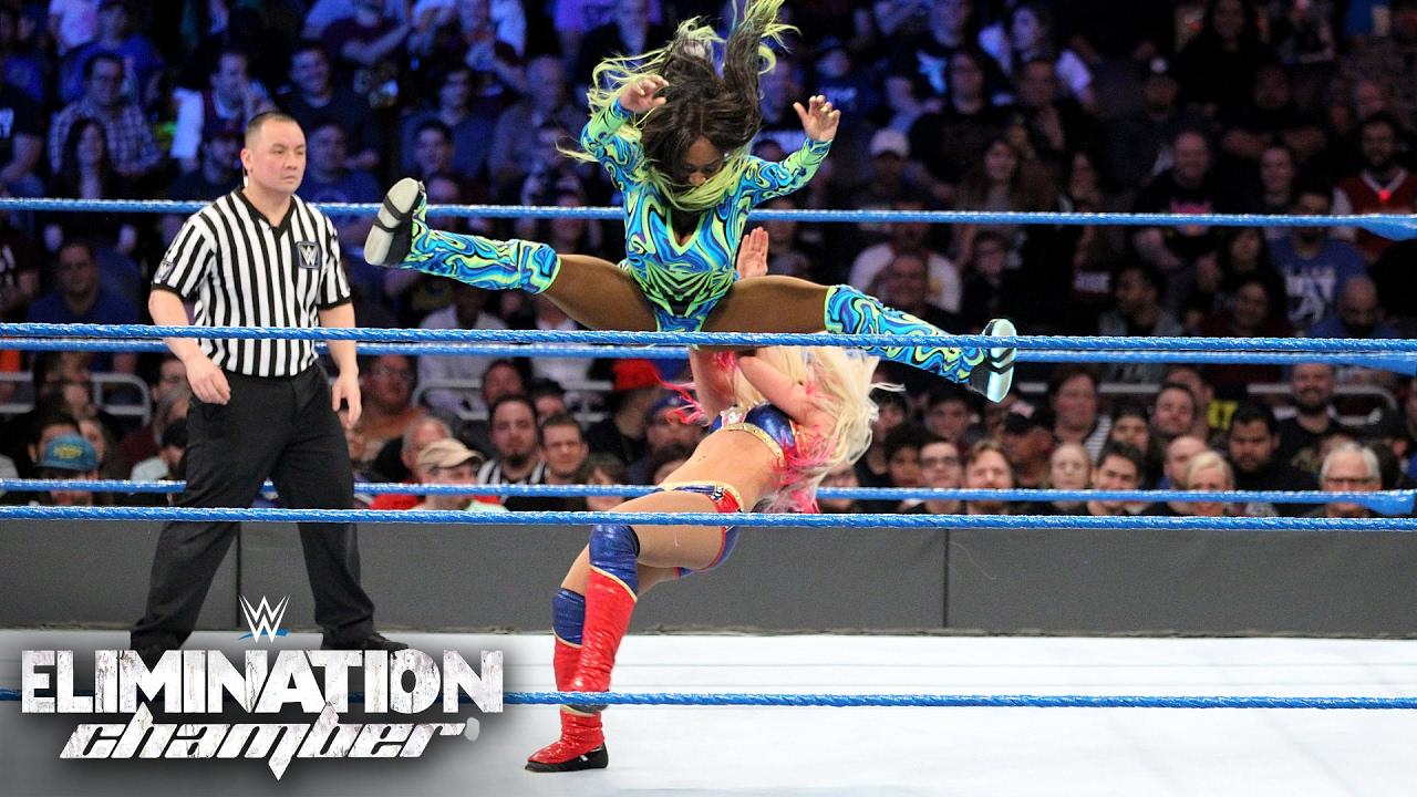 Download Alexa Bliss vs. Naomi - SmackDown Women's Title Match: Elimination Chamber 2017 (WWE Network)