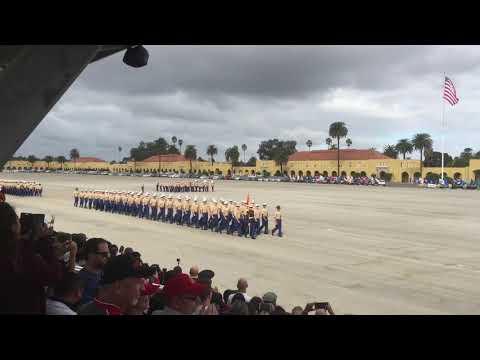 D Company MCRD San Diego Graduation 10/20/2017