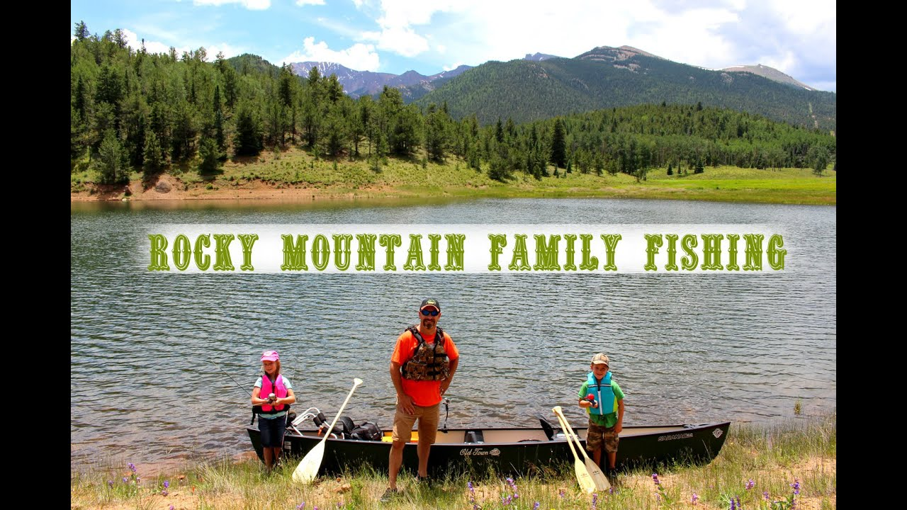 Old town saranac fishing on pikes peak youtube for Peak fishing times for today