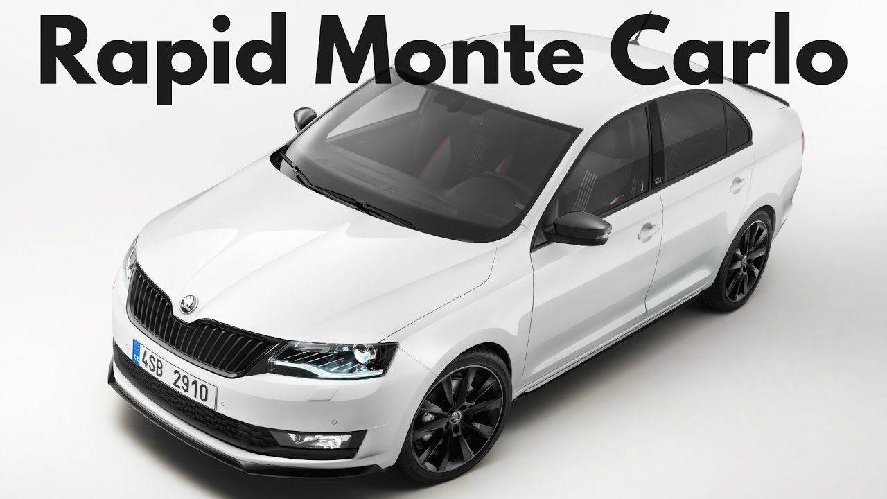 2017 Skoda Rapid Monte Carlo Interior And Exterior Youtube