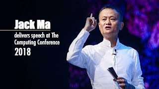Live: Jack Ma delivers speech at The Computing Conference 2018 马云在2018杭州云栖大会上发表演讲