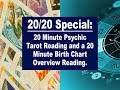 $55 Special: Psychic Tarot Reading and Astrology Birth/Natal Chart Reading [Lamarr Townsend Tarot]