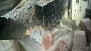видео Брусчатка: гранитная брусчатка, производство брусчатки