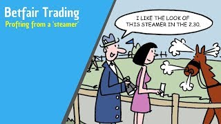 Betfair trading - Trading order flow by spotting a 'steamer'