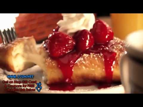 Free Ihop Gift Card & Printable Coupons ! Ihop Commercial 2012