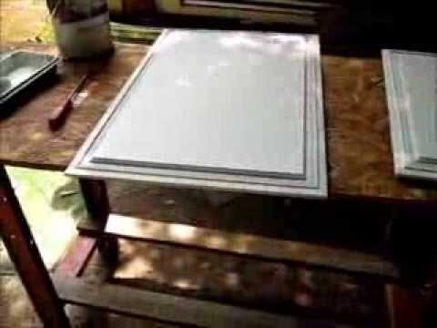 Painting My RV Cabinet Doors And Many Packages Today - YouTube