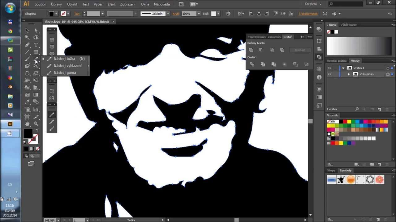 Zaciname V Programu Adobe Illustrator Cviceni 03 Vektorizace