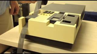 Altair 8800 - Video #28 - High Speed Paper Tape Reader/Punch