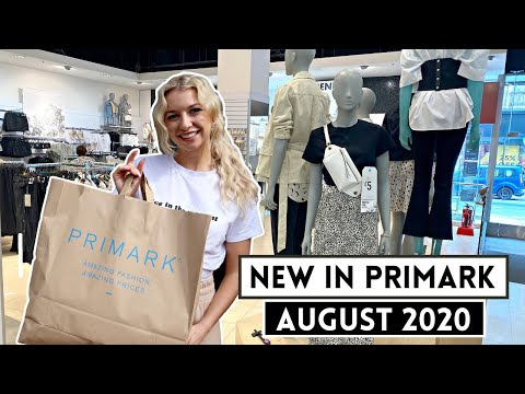 NEW IN PRIMARK AUGUST 2020 / *NEW SUMMER COLLECTION*