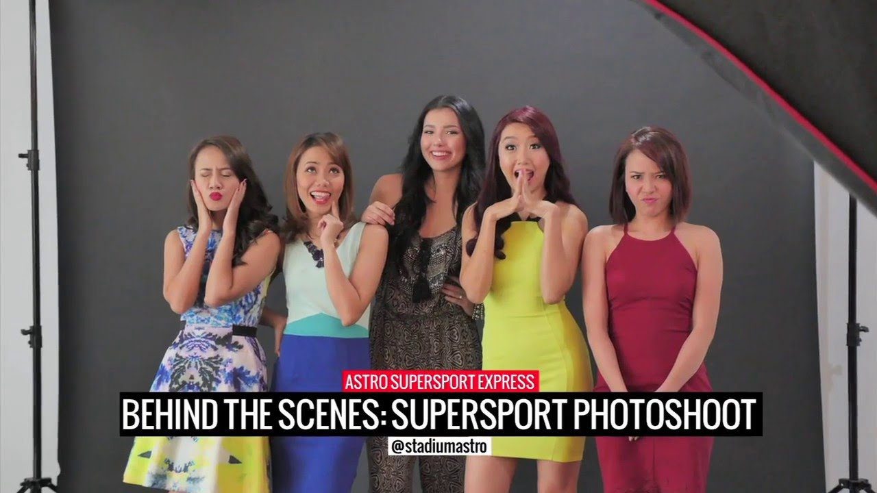 Faces of Astro SuperSport - Behind The Scenes | Express | Astro SuperSport - YouTube