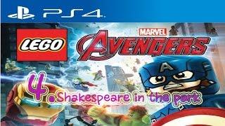 PS4 Lego Marvel Avengers Shake…