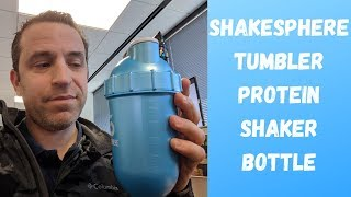 Gambar cover ShakeSphere Tumbler Protein Shaker Bottle Replaces Blender Review