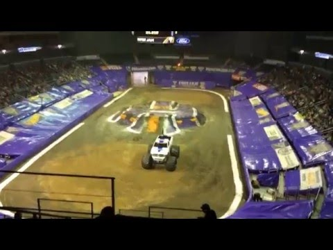 Monsterjam 2016 Evansville,Indiana