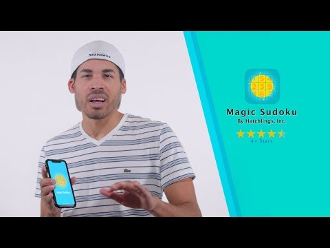 Magic Sudoku - iPhone X - Augmented Reality iOS App Reviews