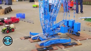 Giant RC Crane &  Wind Turbine installation