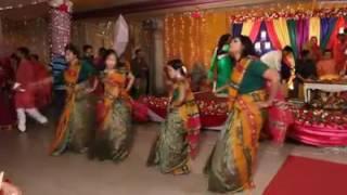 Bangla Natok's Ctg Song in Wedding Gaye holud