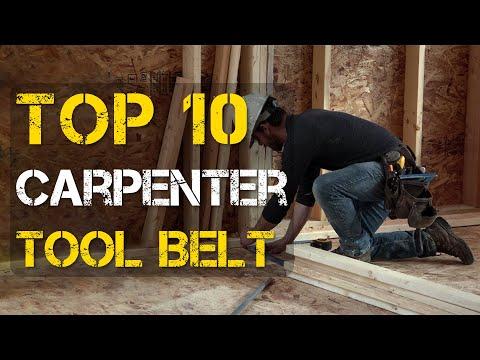 Top 10 Best Carpenters Tool Belt