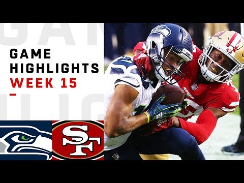 Seahawks vs. 49ers Week 15 Highlights | NFL 2018