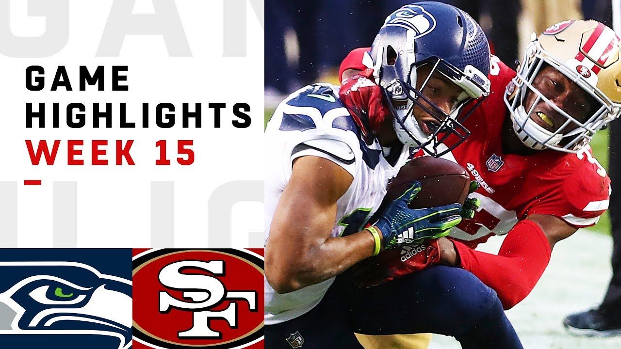 Seahawks Vs 49ers Week 15 Highlights Nfl 2018