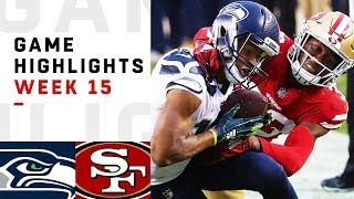 Seahawks Vs. 49ers Week 15 Highlights | NFL 2018
