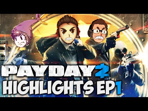 THAT ESCALATED QUICKLY - PayDay 2 Highlights | Ep.1 w/MrRayHonda & Muyskerm |