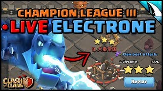 *ELECTRONE LIVE HIT* | Hitting Th 12 with 3 Infernos | Planning and Live Hit | Clash of Clans