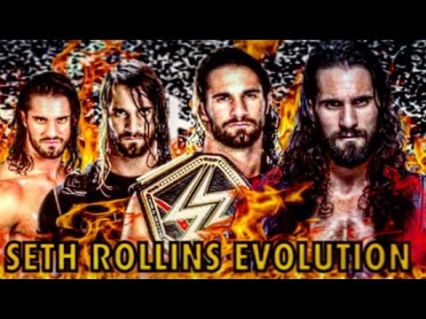 THE EVOLUTION OF SETH ROLLINS TO 2010-2020