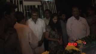 Ultimate Star Ajith Kumar and Shalini Ajithkumar Pay Homage to Tamil poet Vaali [ RED PIX]