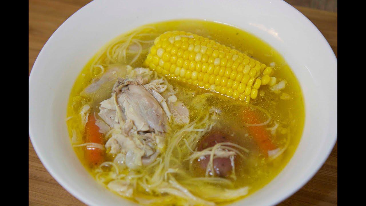 Cuban Chicken Noodle Soup Sopa De Pollo Cooked By Julie Episode 218 Youtube
