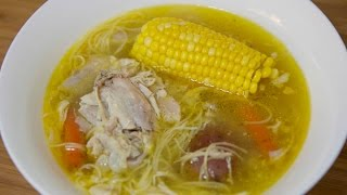 Cuban Chicken Noodle Soup - Sopa de Pollo - Cooked by Julie Episode 218