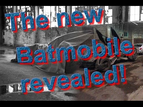 The new Batmobile revealed - Batman V Superman