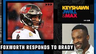 Domonique Foxworth fires back at Tom Brady's comments about defensive players 👀 | KJM