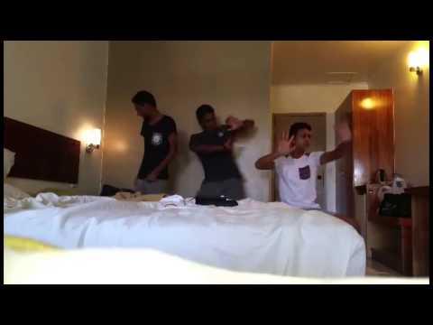 Major Lazer & DJ Snake lean on dance funny