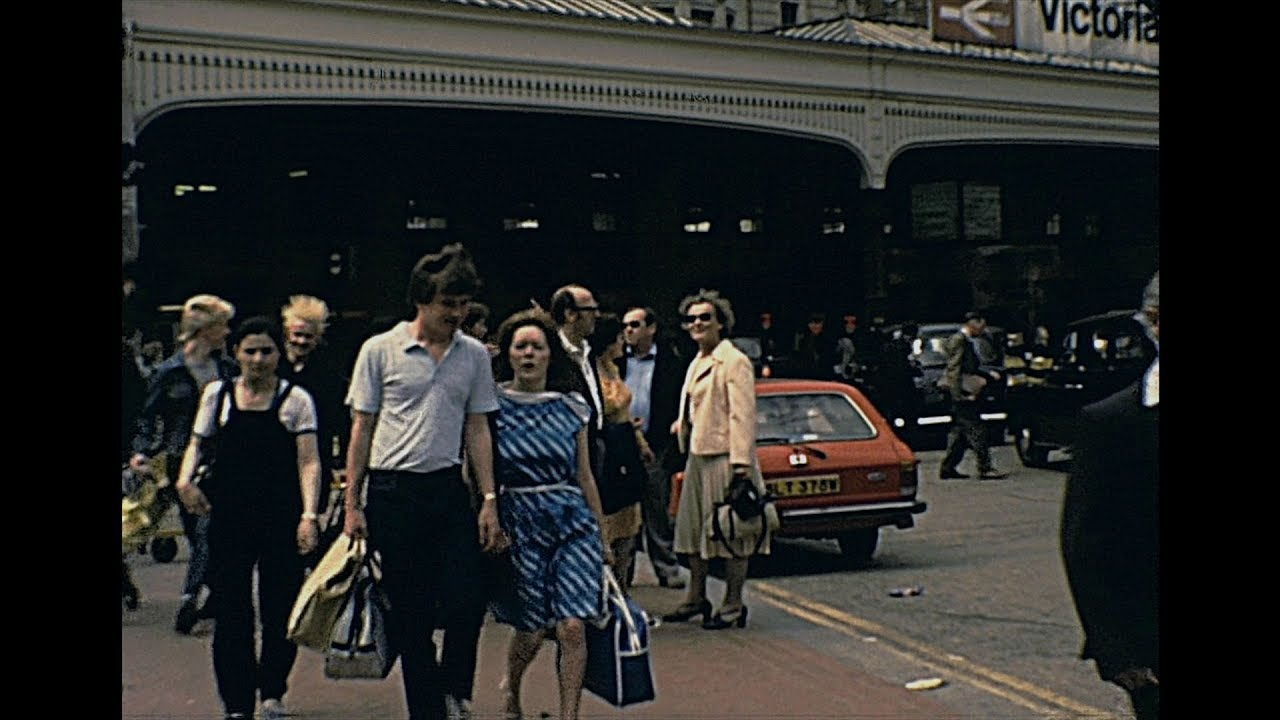 London 1983 Archive Footage