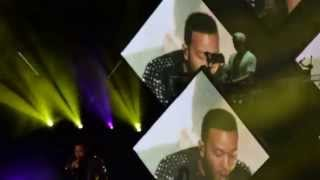john legend singing sexual healing at kygo concert at the greek theater