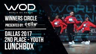 Lunchbox | 2nd Place Youth | World of Dance Dallas 2017 | Winners Circle | #WODDALLAS17