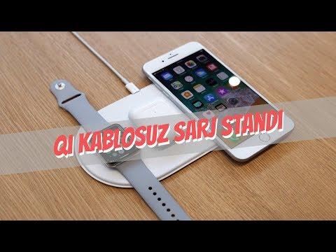 Qi Kablosuz Sarj Standı Incelemesi ( Iphone X & Samsung S7 Edge Için )