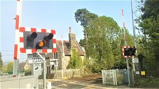*Faulty Alarm Before Replacement* Aylesford Village Level Crossing, Kent