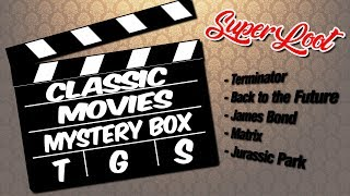 Classic Movies Mystery Box (SuperLoot) Unboxing!