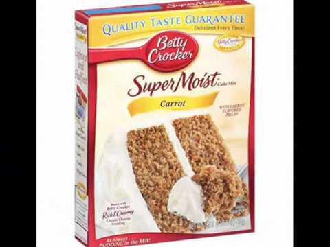 Betty Crocker Super Moist Carrot Cake Mix 2 For 5 00