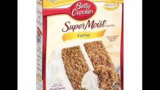 Betty Crocker Super Moist Carrot Cake Mix 2 for $ 5.00