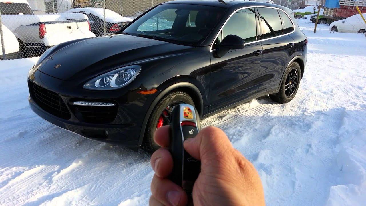 Porsche Cayenne Remote Starter
