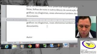 Curso de Word 2010 Essencial - 1ª Aula (Curso Completo 10 aulas)