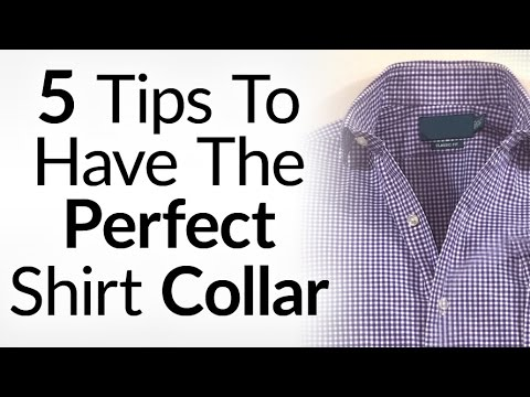 5 Tips To Perfect Looking Shirt Collars | Wear Dress Shirts Without A Tie & Collar Looks Great