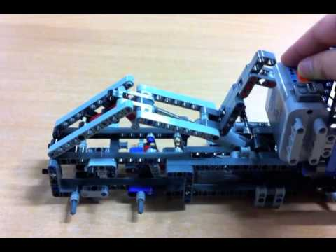 Lego Technic 8052 Container Truck Youtube