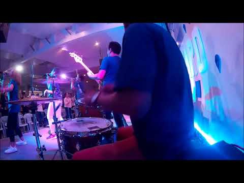 God is Here | DRUM CAM | RAINm Church |