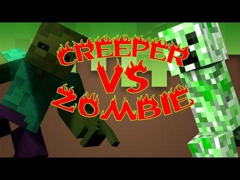 CREEPER VS ZOMBIE  ESPECIAL 1 MILLÓN   2