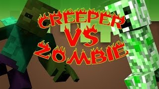 Repeat youtube video CREEPER VS ZOMBIE | ESPECIAL 1 MILLÓN | PARTE 2