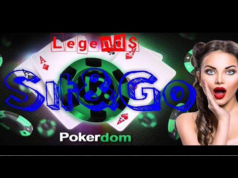 💴 PokerDom турнир Sit & Go (рубль)